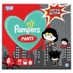 Pampers Plenkové Kalhotky Pants Velikost 6, 60 ks, 15 kg+