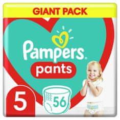 Pampers Plenkové Kalhotky Pants Velikost 5, 56 ks, 12-17 kg