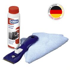 Xavax čistiaci set pre sklokeramické a indukčné dosky 3 dielny
