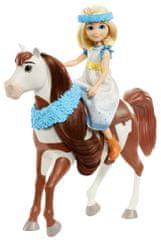 Mattel Spirit Festival lalka i kucyk Abigail i Boomerang