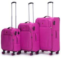 Swiss Sada kufrov X'plorer Pink 3-set