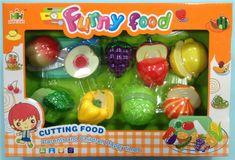 Mac Toys Set potravín na suchý zips
