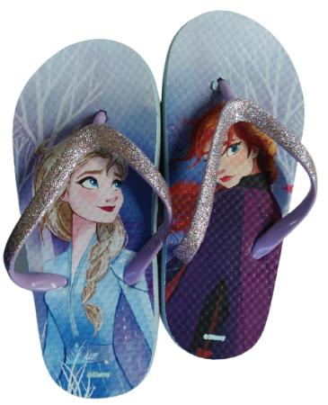 Disney japanke za djevojčice Frozen II 2300004268, 33, ljubičaste