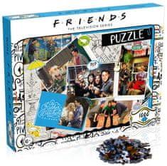 Winning Moves slagalica Prijatelji Scrapbook, 1000 komada