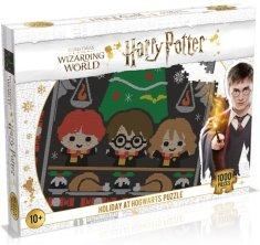 Winning Moves Harry Potter: Božić u Hogwartsu slagalica, 1000 komada