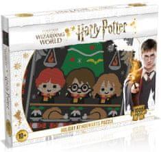 Winning Moves Puzzle Harry Potter: Karácsony Roxfortban, 1000 darab