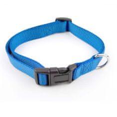 COBBYS PET Állítható textil kutya nyakörv 2,0x35-50cm kék