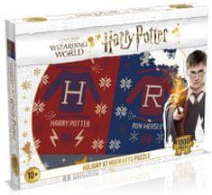Winning Moves Puzzle Harry Potter: Karácsonyi pulóverek, 1000 darab