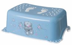 MALTEX Fellépő mosdóhoz - Maci - kék