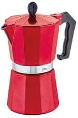 Cilio Varič na espresso CLASSICO 6 šálok metalická červená
