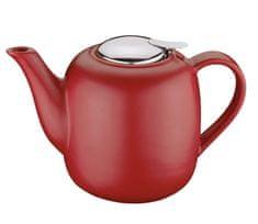 Küchenprofi Konvička na čaj LONDON, 1,5 l, červená
