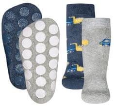 EWERS 2pack chlapčenských protišmykových ponožiek s ABS 225065