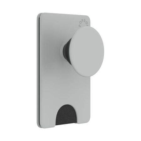 PopSockets PopWallet+ Tech držač / stalak, sivi