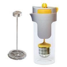 Stoneline Kanvička na čaj a kávu nerez 750 ml žltá