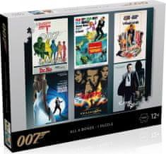 Winning Moves Puzzle James Bond 007 Actor debut 1000 dílků