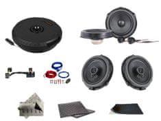 Awave SET - kompletní ozvučení Bestaudio Premium do Ford Focus MKIII (2011-2018))
