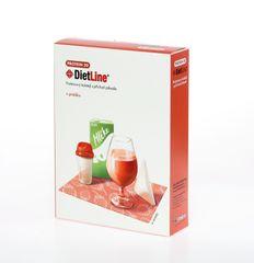 DietLine Protein 20 proteinový koktejl s příchutí jahody