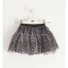 IDO Dievčenská sukňa tylová ružovo čierna IDO-IDO