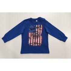 IDO Chlapčenské tričko modré s motívom IDO-IDO