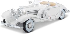 Maisto Mercedes-Benz 500K Maharadscha 1936 - biały