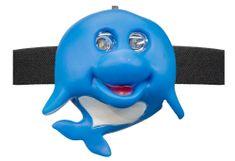 Oxe  LED homloklámpa, delfin