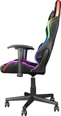 Herní židle Genesis Nitro 440, nastavitelná výška sedu a úhel opěradla