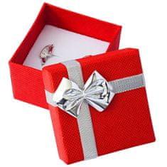 Jan KOS Czerwone pudełko ze wstążką ET-3 / A7 / Ag