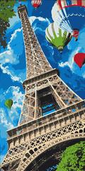 Kouzelný Art Malování podle čísel Eiffelova věž