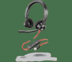Poly  Blackwire 3320 naglavne slušalke z mikrofonom