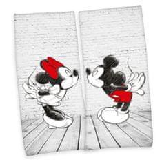 Herding Mickey & Minnie komplet 2 ručnika, 80 x 180 cm