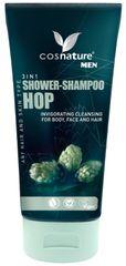 Cosnature Sprchový gel a šampon 3v1, Chmel 200 ml