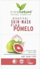 Cosnature Pleťová maska pro krásnou pleť, Růžové pomelo 2 x 8 ml