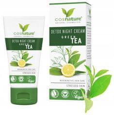 Cosnature Detoxikační noční krém, Zelený čaj 50 ml