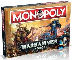 Winning Moves Monopoly Warhammer 40000 Anglická verzia