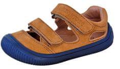 Protetika chlapčenské barefoot sandále Berg beige