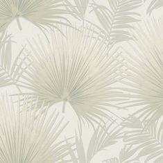 Postershop Vinylová umývateľná tapeta béžové palmové listy