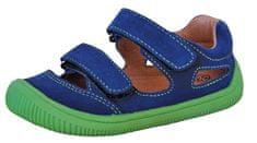 Protetika chlapčenské barefoot sandále Berg blue