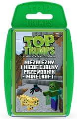 Winning Moves Gra karciana Top Trumps Niezależny i nieoficjalny przewodnik - Minecraft