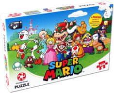 Winning Moves Puzzle Mario a přátelé 500 dílků