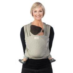 Babylonia TRICOT-SLEN Design šátek na nošení dětí col. 601 white stipple