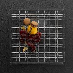 Nachtmann Nachtmann mělký skleněný talíř Square 28 cm 1KS