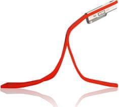 Atmoog AL-02 - LED lampička ohebná, pro všechny čtečky - červená