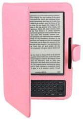 Fortress Amazon Kindle 3 Keyboard - FORTRESS FT126 - růžové