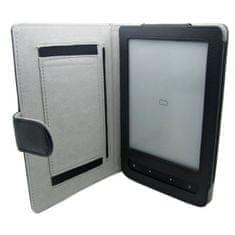 Fortress Pocketbook 614 / 615 / 622 / 623 / 624 / 625 / 626 / 631 / 640 / 641 FORTRESS FT158 tmavě modré pouzdro - magnet