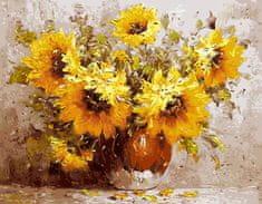 Gaira® Malovanie podľa čísiel Kvety M99432