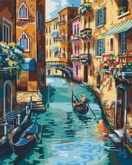 Gaira® Malovanie podľa čísel Benátky M991472