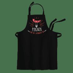 Cyber print shop Predpasnik s potiskom Piknik žur do jutranjih ur