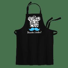 Cyber print shop Predpasnik s potiskom Slastni kuhar