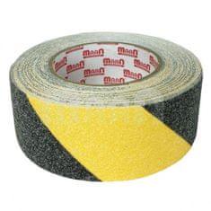 MAAN MAAN Páska protiskluzová žluto-černá samolepicí 50mm x 10m