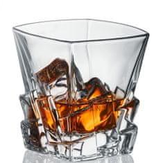 Bohemia Jihlava Bohemia Jihlava Sklenice na whisky Crack 310 ML 6 KS